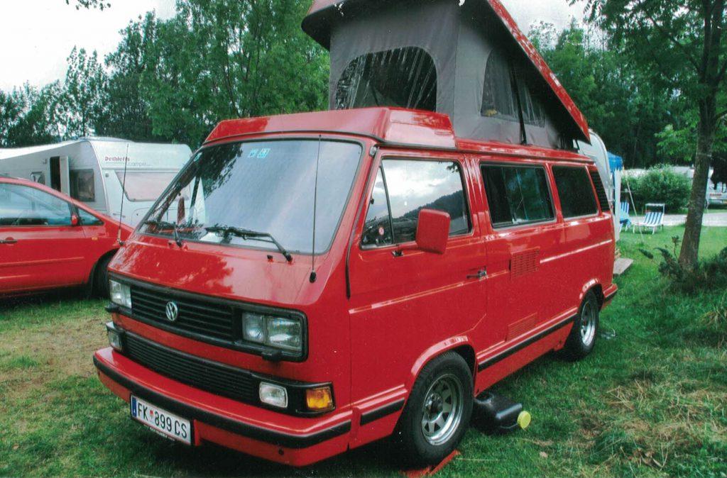 Erinnerungen an meinen liebvoll aus- und umgebauten VW T3