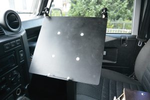 Notebook-Halterung Als Roadbook